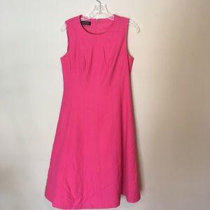 Kasper Pink Fitted Dress